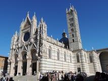 La catedral - Siena Fotografía de archivo libre de regalías