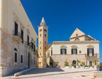La catedral Trani Apulia Italia foto de archivo libre de regalías
