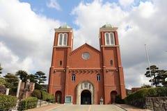 La catedral Urakami de la Inmaculada Concepción de Nagasaki fotos de archivo libres de regalías