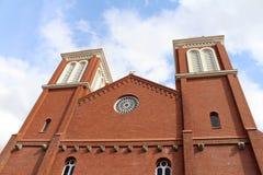 La catedral Urakami de la Inmaculada Concepción de Nagasaki imagen de archivo