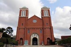 La catedral Urakami de la Inmaculada Concepción de Nagasaki imagenes de archivo
