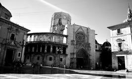 La catedral Valencia Imagen de archivo libre de regalías
