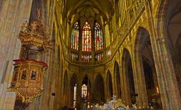 La catedral vieja de Praga Fotografía de archivo libre de regalías