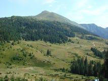 La catena montuosa del Marmaros dei Carpathians ucraini vicino alla città di Rakhiv della regione Transcarpathian l'ucraina 08 Immagine Stock Libera da Diritti