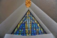La cathédrale arctique dans Tromso, Norvège images stock