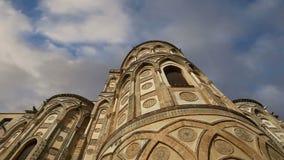 La Cathédrale-basilique de Monreale, est une église de Roman Catholic dans Monreale, Sicile, Italie du sud clips vidéos
