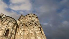 La Cathédrale-basilique de Monreale, est une église de Roman Catholic dans Monreale, Sicile, Italie du sud banque de vidéos