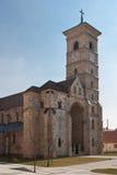 La cathédrale catholique dans Iulia alba Photographie stock libre de droits