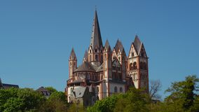 La cathédrale catholique de Limbourg photos stock