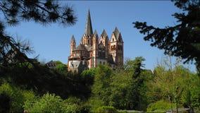 La cathédrale catholique de Limbourg image stock