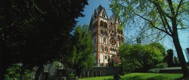 La cathédrale catholique de Limbourg image libre de droits