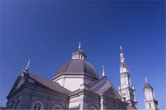 la cathédrale croise cinq Photographie stock