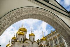 La cathédrale d'annuciation, le Kremlin, Russie photo libre de droits