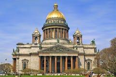 La cathédrale d'Isaac Photo libre de droits