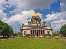 La cathédrale d'Isaac de saint à St Petersburg image stock