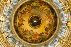 La cathédrale d'Isaac de saint Photo libre de droits