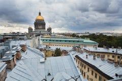 La cathédrale d'Isaac de saint Images libres de droits