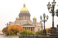 La cathédrale d'Isaac de saint Image libre de droits