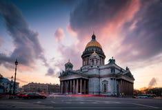La cathédrale d'Isaac de saint photos libres de droits