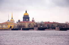 La cathédrale d'Isaac de saint, St Petersburg, Russie Image libre de droits
