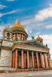 La cathédrale d'Isaac iconique de saint à St Petersburg, Russie Photographie stock libre de droits