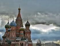 La cathédrale de Basil de saint, Moscou Photographie stock libre de droits