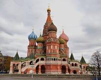 La cathédrale de Basil de saint, Moscou, Russie. Image stock