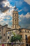 La cathédrale de basilique de notre Madame du pilier photographie stock libre de droits