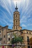 La cathédrale de basilique de notre Madame du pilier photo libre de droits