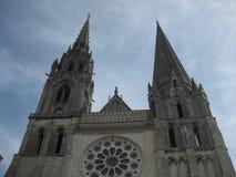 La cathédrale de Chartres photographie stock