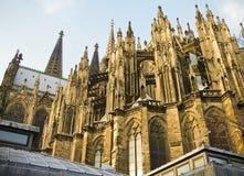La cathédrale de Cologne Images stock