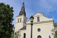 La cathédrale de Karlstad La Suède, Scandinavie, l'Europe Photo libre de droits