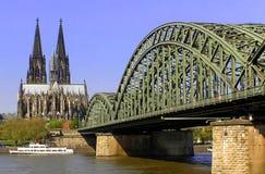 La cathédrale de Koeln Images stock