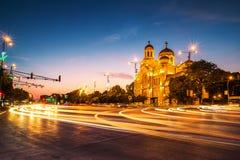 La cathédrale de l'hypothèse à Varna Images stock