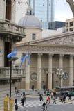 La cathédrale de la métropolitaine de Buenos Aires Photo libre de droits