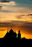 La cathédrale de la rue Sophia dans Veliky Novgorod Images libres de droits