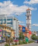 La cathédrale de Mère Teresa bénie dans Pristina image libre de droits
