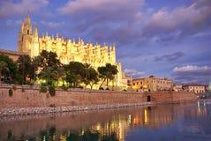La cathédrale de Majorca Images libres de droits
