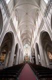 La cathédrale de notre Madame, Anvers image libre de droits