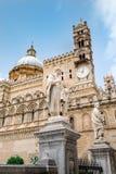 La cathédrale de Palerme Photo stock
