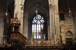 La cathédrale de Prague photos stock