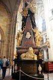 La cathédrale de Prague photo libre de droits