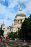 La cathédrale de Rue-Paul à Londres Image libre de droits