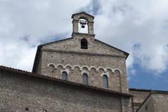 La cathédrale de Santa Maria à l'anagni Photo stock