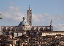 La cathédrale de Sienna Photographie stock libre de droits