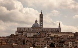 La cathédrale de Sienna Photos libres de droits