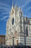 La cathédrale de Sienne images libres de droits