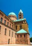 La cathédrale de Speyer, un site d'héritage de l'UNESCO photos libres de droits