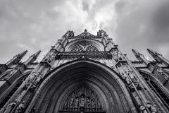 La cathédrale de St John le divin, officiellement l'église de cathédrale de Saint John, New York photo libre de droits