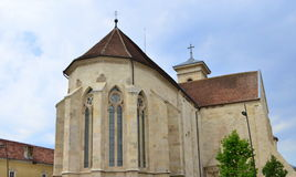 La cathédrale de St Michael - Alba Iulia, Roumanie Photo stock